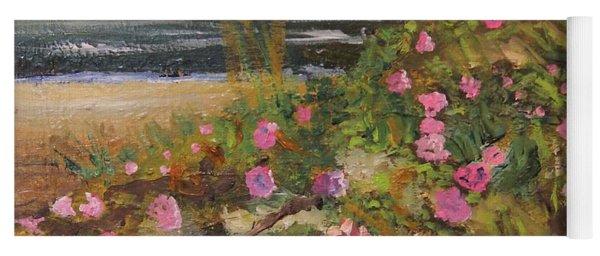 Rugosa Roses On Cape Yoga Mat