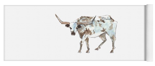 Running Back Texas Longhorn Lh070 Yoga Mat