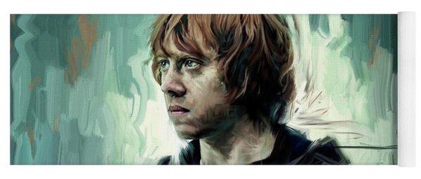 Rupert Grint As Ronald Weasley Yoga Mat