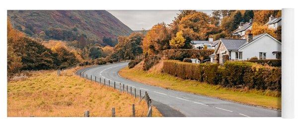 Rural Wales In Autumn Yoga Mat