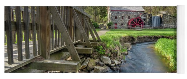 Rushing Water At The Grist Mill Yoga Mat