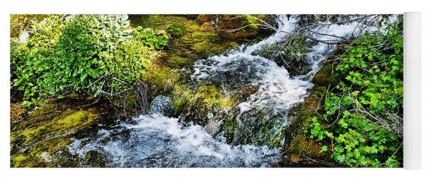 Rushing Waters Yoga Mat