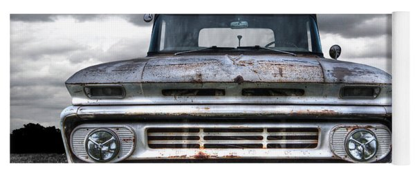 Rust And Proud - 62 Chevy Fleetside Yoga Mat
