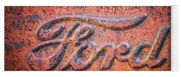Rust Never Sleeps - Ford Yoga Mat