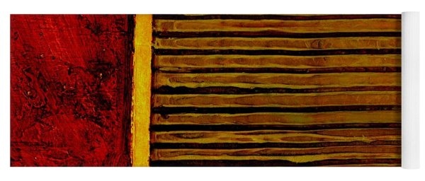 Rustic Abstract One Yoga Mat