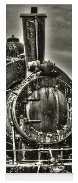 Rusting Locomotive Yoga Mat