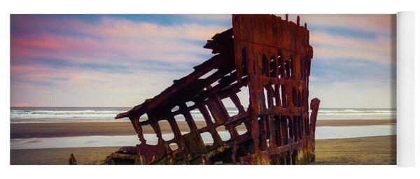 Rusting Shipwreck Yoga Mat