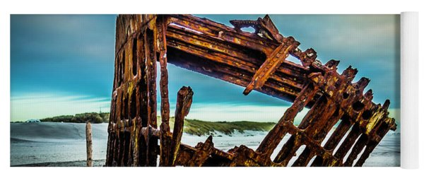 Rusty Forgotten Shipwreck Yoga Mat