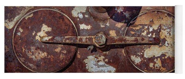 Rusty Gears Yoga Mat