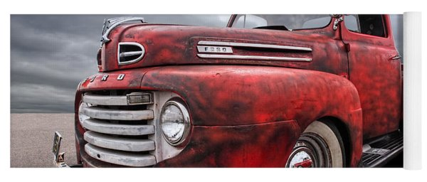 Rusty Jewel - 1948 Ford Yoga Mat