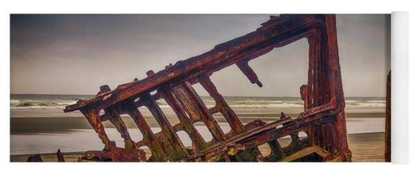 Rusty Shipwreck Yoga Mat