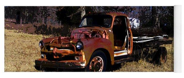 Rusty Truck Yoga Mat