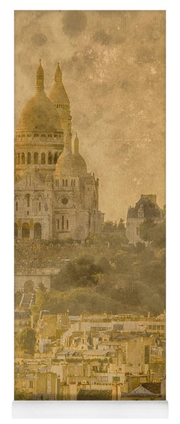 Paris, France - Sacre-coeur Oldplate Yoga Mat