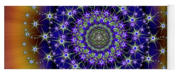 Sacred Geometry 663 Yoga Mat