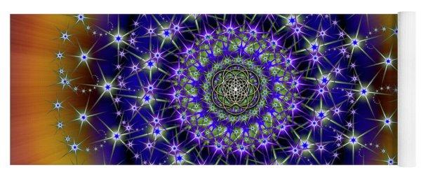 Sacred Geometry 663 Yoga Mat