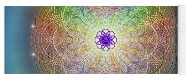 Sacred Geometry 676 Yoga Mat