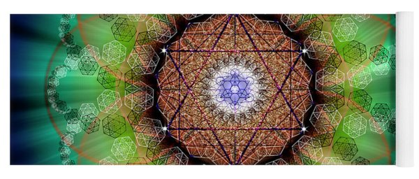 Sacred Geometry 685 Yoga Mat