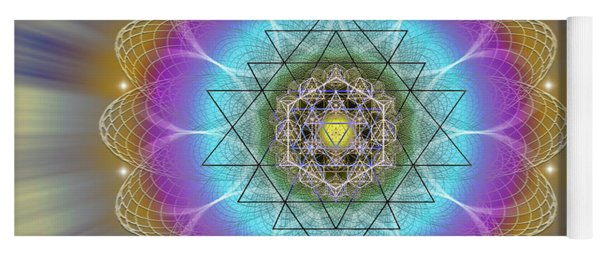Sacred Geometry 686 Yoga Mat