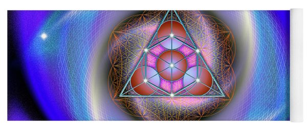 Sacred Geometry 687 Yoga Mat