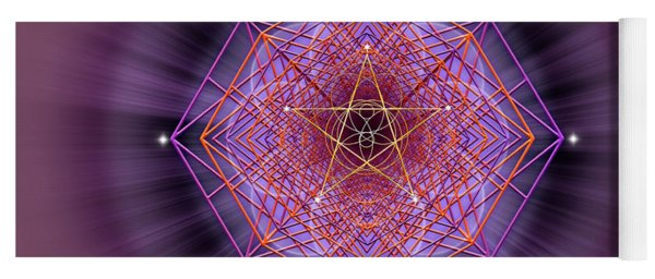 Sacred Geometry 689 Yoga Mat