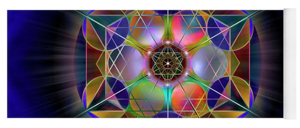 Sacred Geometry 690 Yoga Mat