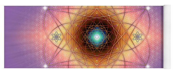 Sacred Geometry 691 Yoga Mat