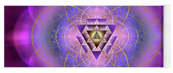 Sacred Geometry 692 Yoga Mat