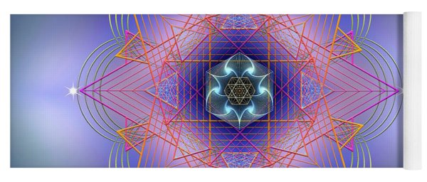 Sacred Geometry 693 Yoga Mat