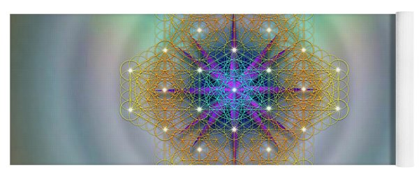 Sacred Geometry 694 Yoga Mat