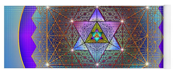 Sacred Geometry 695 Yoga Mat