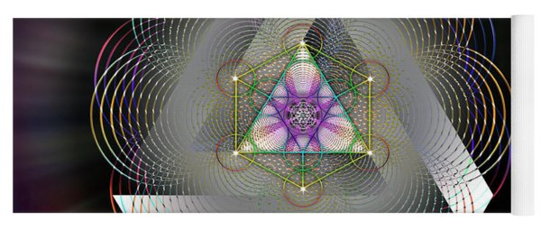 Sacred Geometry 696 Yoga Mat