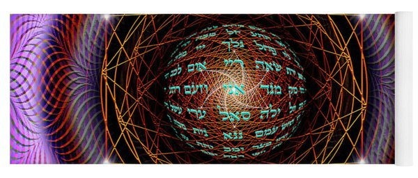 Sacred Geometry 697 Yoga Mat