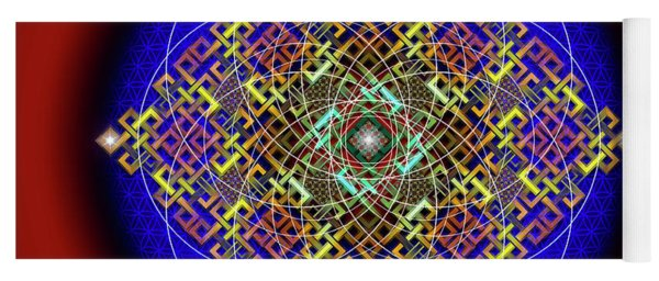 Sacred Geometry 698 Yoga Mat