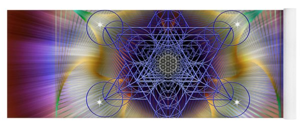 Sacred Geometry 699 Yoga Mat