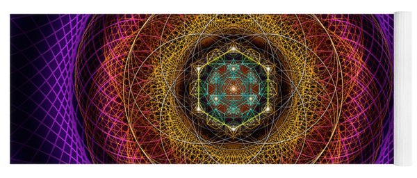 Sacred Geometry 700 Yoga Mat