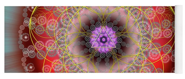 Sacred Geometry 702 Yoga Mat