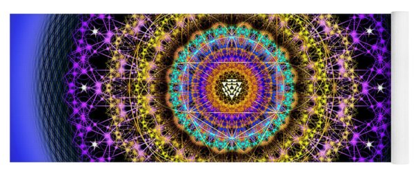 Sacred Geometry 708 Yoga Mat
