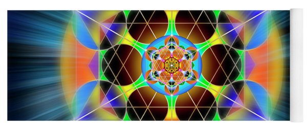 Sacred Geometry 709 Yoga Mat