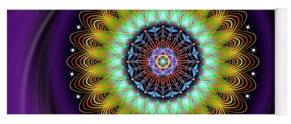 Sacred Geometry 710 Yoga Mat