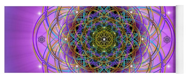 Sacred Geometry 715 Yoga Mat