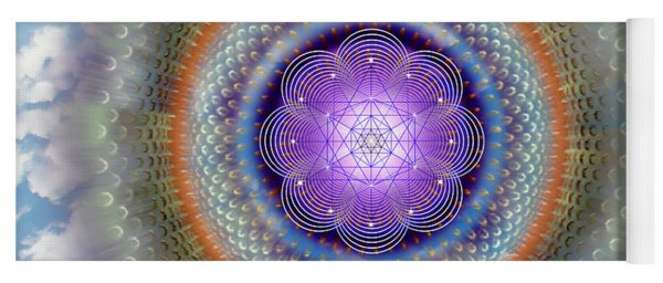 Sacred Geometry 716 Yoga Mat