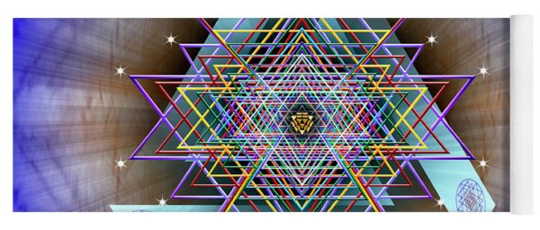 Sacred Geometry 717 Yoga Mat