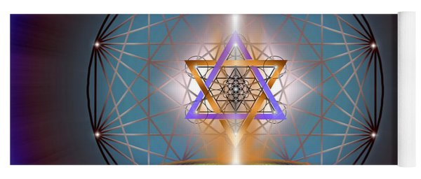 Sacred Geometry 718 Yoga Mat