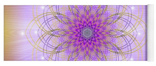 Sacred Geometry 721 Yoga Mat