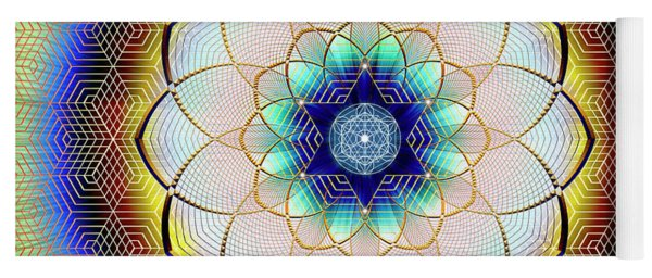 Sacred Geometry 723 Yoga Mat
