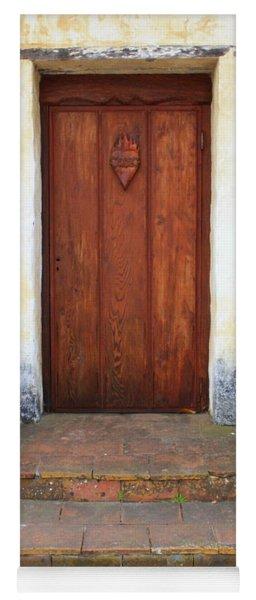 Sacred Heart Door Yoga Mat