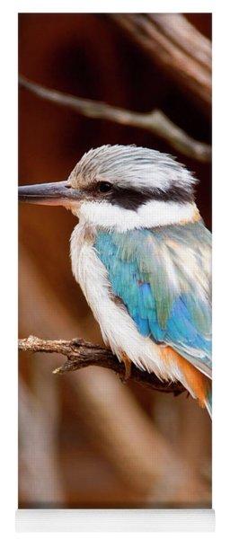 Sacred Kingfisher Yoga Mat
