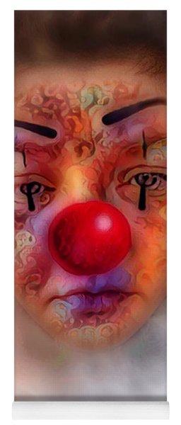 Sad Clown Yoga Mat