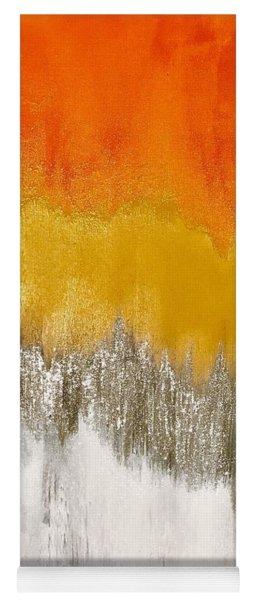 Saffron Sunrise Yoga Mat