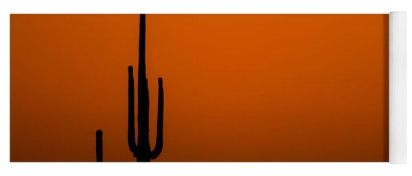 Saguaro Sunset Yoga Mat